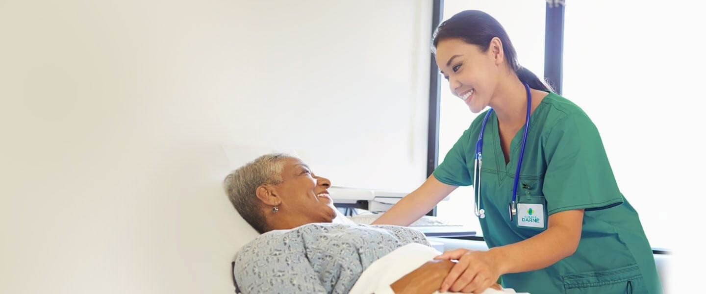 "<p>Patient care <br /><strong><span class=""green"">comes first</span></strong></p>"